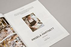 St James's Correspondent Issue 3 Interview with Angela Hartnett, Cafe Murano