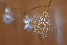 Snowflake LED lights
