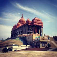 Vivekananda Rock Memorial in Kanniyākumāri, Tamil Nadu