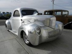 What a raving beauty !!  All Aluminum Willys Coupe