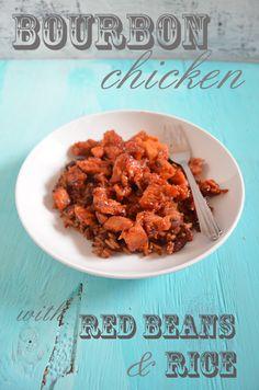 Bourbon Chicken by Mooshu Jenne #Cajun #recipe