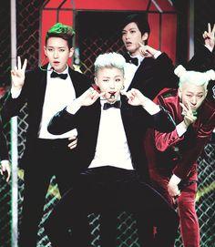 B-Bomb, U-Kwon, Jaehyo, and Zico - Block B