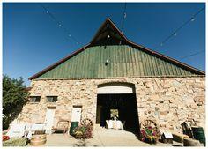 Open Barn Wedding Reception