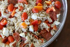 Making Frugal Living {Simply} Extravagant Pizza Pasta Salads, Pasta Salad Recipes, Aldi Recipes, Pizza Planet, Birthday Breakfast, Soup And Salad, Meatloaf, Cobb Salad, Toy Story