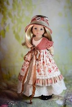 034-Countryside-Beauty-034-Dress-Outfit-Clothes-for-13-034-Dianna-Effner-Little-Darling