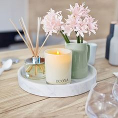 ECOYA Madison Jar candle and reed diffuser   https://www.kambos.com.au/brands/ecoyahtml?limit=all