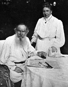 Stock Photo - Leo Tolstoy and Countess Sophia his wife in front of their house in the Yasnaya Polyana estate Guy Drawing, Drawing Tips, Writers And Poets, Novels, Author, Stock Photos, Couple Photos, Couple Shots, Writers