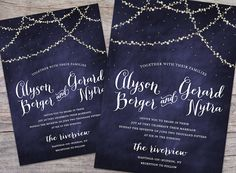 Hey, I found this really awesome Etsy listing at https://www.etsy.com/listing/222938203/starry-night-wedding-diy-printable