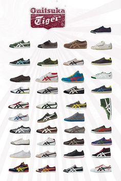 Onitsuka Tiger, I want all of these :)