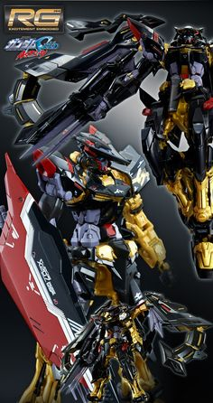 P-Bandai RG 1/144 GUNDAM ASTRAY GOLD FRAME AMATSU RONDO GINA SAHAKU'S use: Full Official Images, Promo Poster, Info Release http://www.gunjap.net/site/?p=323448