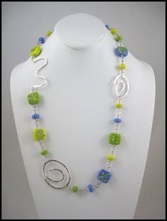 Handmade Necklace  Fun & a Little Funky  Perfect by HeyJudeJewelry, $68.00