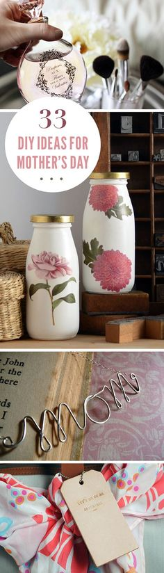 33 DIY's for Mother's Day from Darby Smart