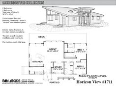 Horizon View #1711 Plan