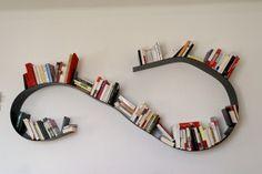 étagère murale bookworm de Ron Arad pour Kartell