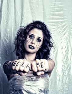 Anti Bullying Photo Shoot Photographer: Jon Williams Photography MUA: Sarah Flemming Hairstylist: Amanda McGuire