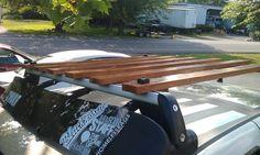 Wooden roof rack ideas, part 2