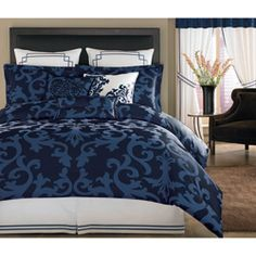 22 best navy blue comforter sets images on pinterest navy blue