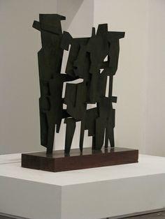 """1955 """"Colóquio"""" PIETRO CONSAGRA (Mazara del Vallo, 6 ottobre 1920 – Milano, 16 luglio 2005) è stato uno scultore e scrittore italiano, uno dei più prestigiosi esponenti dell'astrattismo italiano. #TuscanyAgriturismoGiratola"""