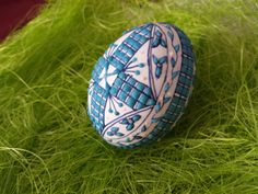 painted eggs- hand made