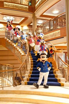 Disney Cruise Line Characters!