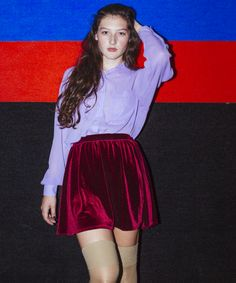 Gifts for... The Party Girl! The Velvet Full Woven Skirt by #AmericanApparel #GiftGuide #PartyGirl