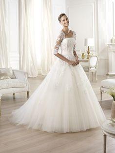 Svatební šaty Pronovias Ocanto Organza Na Svatební Šaty 3d6660e627