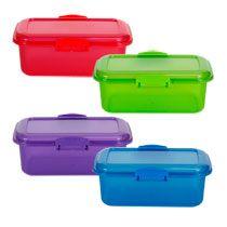 Bulk Betty Crocker Easy Seal Rectangular Storage