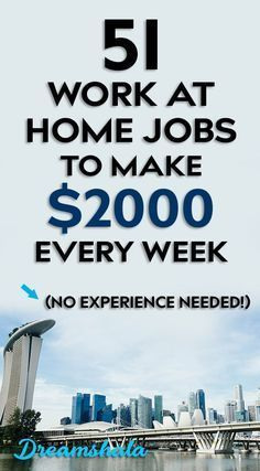 Ways To Make Extra Money Discover 51 work from home companies that pay weekly. Want to make some extra cash from home every week? Check the below list of companies to make money every week. Cash From Home, Earn Money From Home, Earn Money Online, Making Money From Home, Money Today, Work From Home Companies, Work From Home Opportunities, Business Opportunities, Career Options
