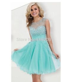 Sweet 16 Dresses turquoise A-line Beaded Sparkly Short Homecoming Dress 2015 Hot Sale Semi Formal Short Prom Cocktail Dress Gown - http://www.onestopweddingstore.com/products/sweet-16-dresses-turquoise-a-line-beaded-sparkly-short-homecoming-dress-2015-hot-sale-semi-formal-short-prom-cocktail-dress-gown/