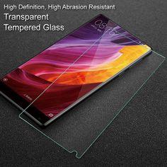 IMAK for Xiaomi Mi Mix Tempered Glass High Anti-explosion Mobile Tempered Glass Screen Guard for Xiaomi Mi Mix Film #Affiliate