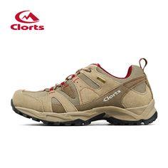 2016 Clorts Men Shoes for Hiking Uneebtex Waterproof Outdoor Trekking Shoes Suede Sport Climbing Sneakers for Men HKL-828