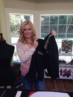 Andrea Schroder teaches how to stud your own clothes on a budget.  Converse sneakers, jean jackets and even purses.