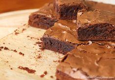 Scientifically Sweet: Dark Chocolate Fudge Brownies