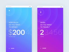 Spend / Time selector from: What if Tinder did travel? by Gleb Kuznetsov✈ https://dribbble.com/shots/3021146-Spend-Time-selector-from-What-if-Tinder-did-travel #zeeenapp