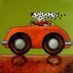 103 A fine day out  signed AND NUMBERED giclee print  by edart, $18.00