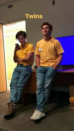 KJ and Cole are friendship goals!