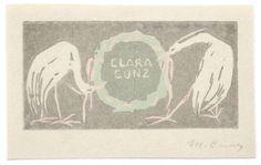 Martha Cunz (1876-1961)  - Clara Cunz