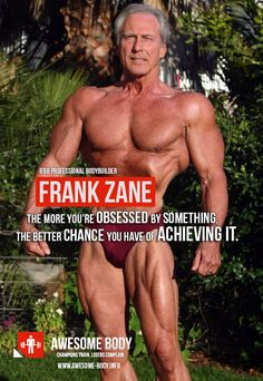 Frank Zane Motivational Quotes |Obsession to achieve|Bodybuilding tips