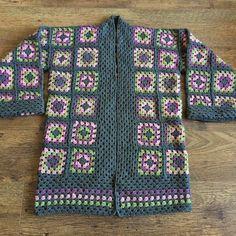 granny square jacket - Pesquisa Google