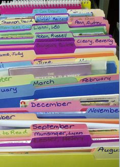 Read Alouds By Month & Author! This one post has been read over 35,000 times, come see why! :)