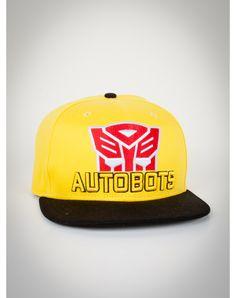 Autobot Yellow Snapback New Era Hat