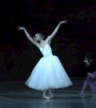 Alina Somova as Giselle at the Mariinsky Theatre, 22.01.2015