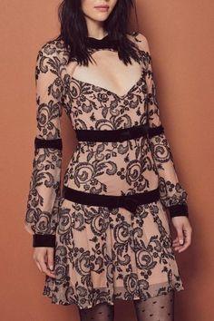 FOR LOVE & LEMONS Clemence Mini Dress