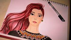 Graphic Jumper by Vanessa Pacanchique, via Flickr Fashion Sketches, Jumper, Female, Art, Art Background, Fashion Sketchbook, Kunst, Jumpers, Performing Arts