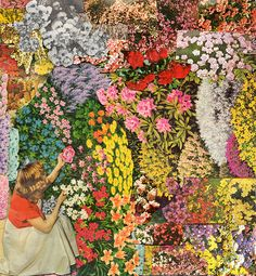 a colorful collage by Ben Giles