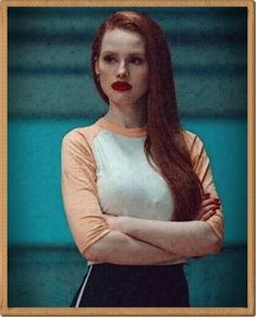 Uploaded by little moonlight. Find images and videos about riverdale, madelaine petsch and cheryl blossom on We Heart It - the app to get lost in what you love. Cheryl Blossom Riverdale, Riverdale Cheryl, Riverdale Cast, Madelaine Petsch, Redhead Girl, Brunette Girl, Redhead Funny, Cheryl Blossom Aesthetic, Camila Mendes Riverdale