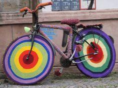 Fahrrad - Guerilla-Knitting