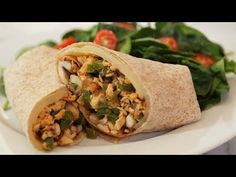 Lunch Wraps | 3 Delicious Ways - YouTube