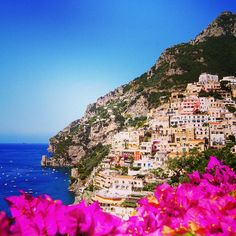 "Jeannette Tolomeo Founder of IVI ORGANIC. ""Positano, Italy one of the most beautiful places in the world. It is relaxing & picturesque it holds a special place in my heart - It was on this European vacation where IVI ORGANIC was born"" #IVIORGANIC #OurStory"