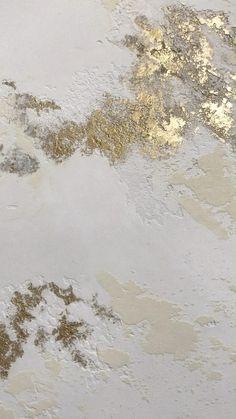 Wall Texture Design, Texture Art, Surface Design, Wall Design, Plaster Texture, Gold Texture, Abstract Painting Techniques, Abstract Canvas Art, Diy Canvas Art